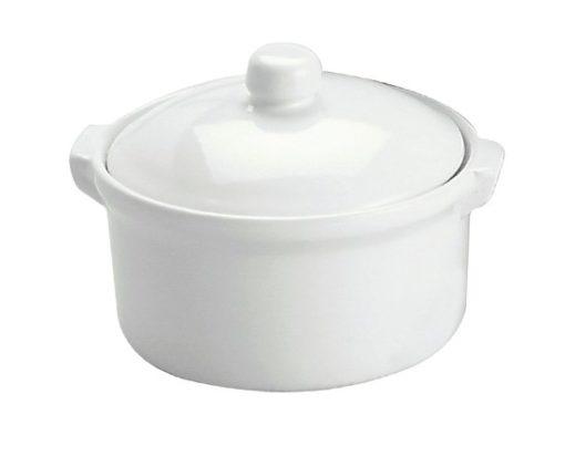Casserole Round Dish (W/Lid)
