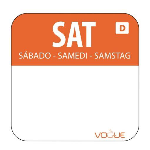 Saturday Food Labels
