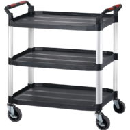 3 Tier Trolley Plastic